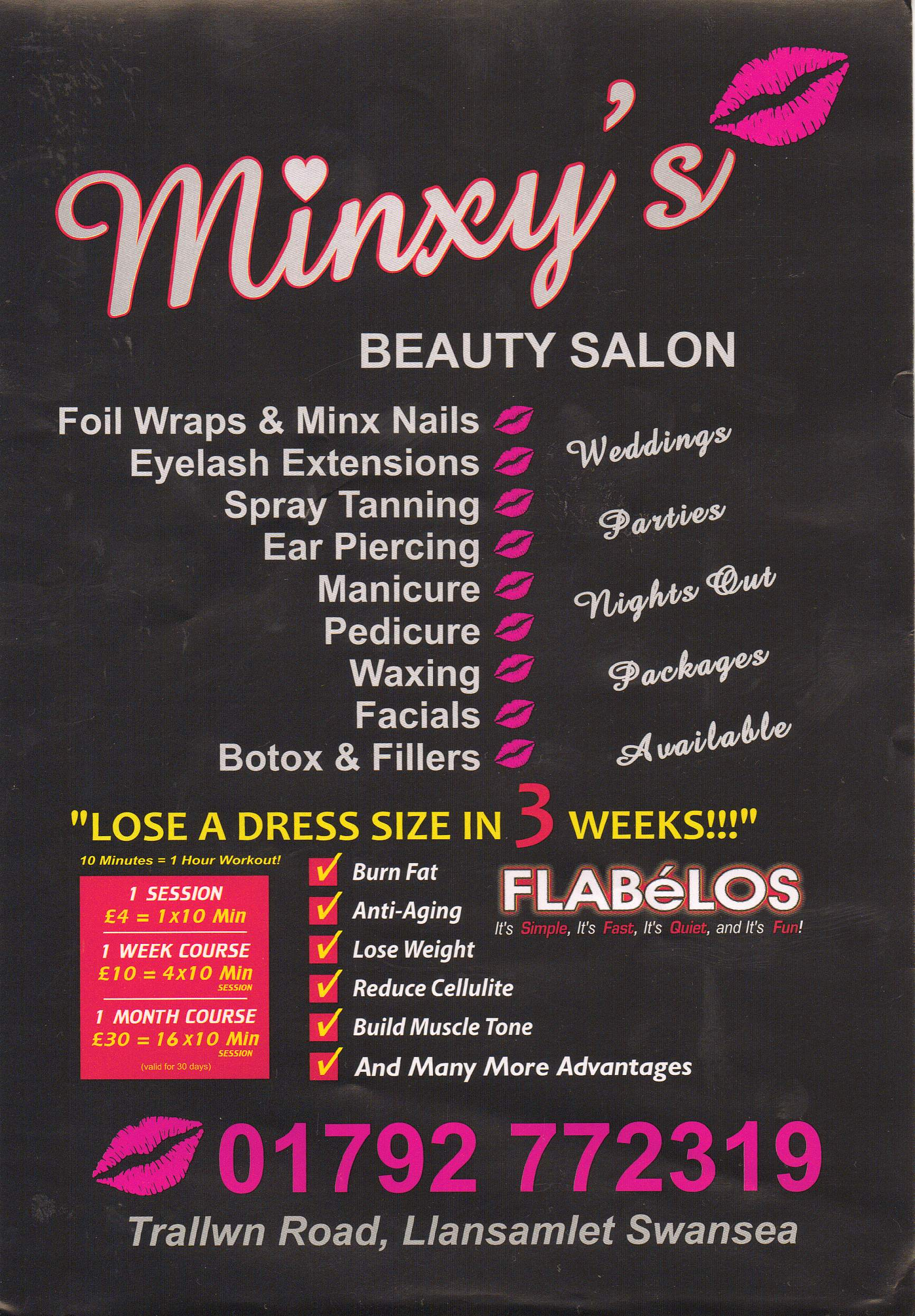 Swanbiz member for 1192 beauty salon swansea