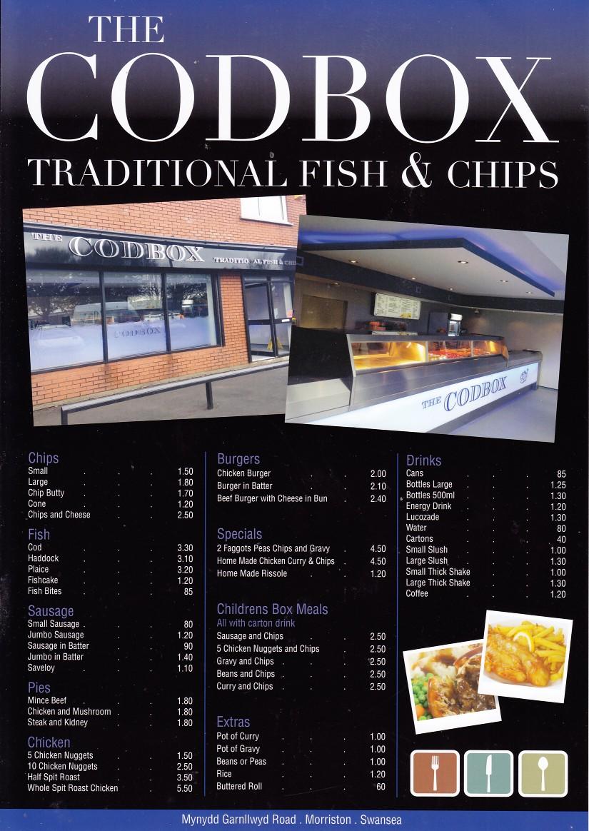 Swansea Biz Card Site, Restaurants