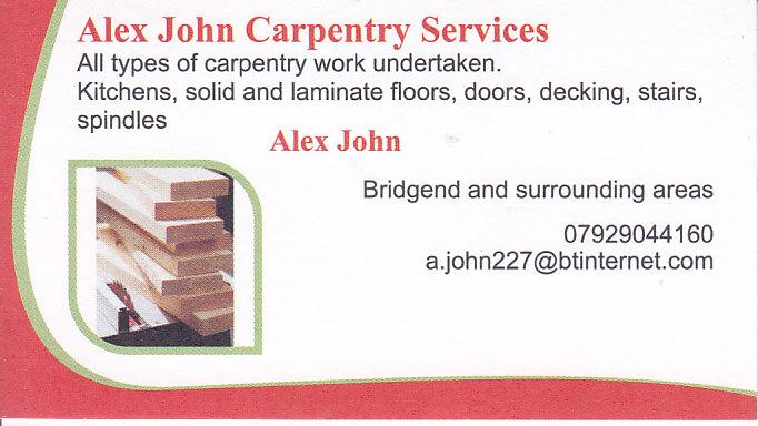 Alexjohn Carpentryservices Swansea